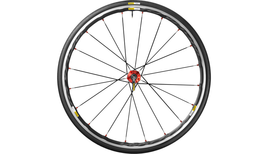Mavic Ksyrium Elite HR 25 Shimano M10 red